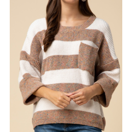 Speckled Chenille Sweater