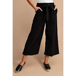 Wide Leg Corduroy Pants