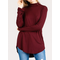 Long Sleeve Mock Neck Modal Top
