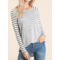 Solid & Stripe Top