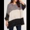 Oversize Colorblock Sweater