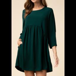 Babydoll Dress W/ Pockets