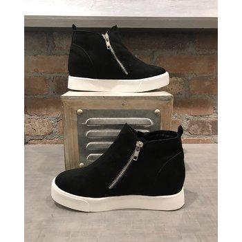 Hightop Zip Up Sneaker
