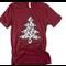 Leopard Print Christmas Tree Tee