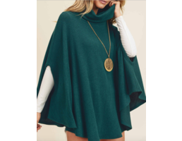 Brushed Cape Top
