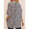 Leopard Boxy Top