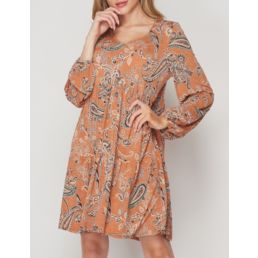 TL Paisley Dress