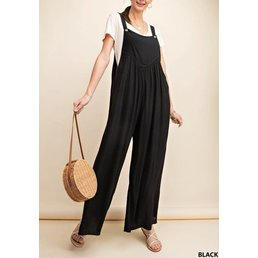 Overall Crepe Jumpsuit