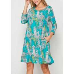 TL Paisley Print Dress