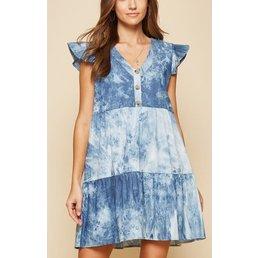 Tie Dye Babydoll Dress