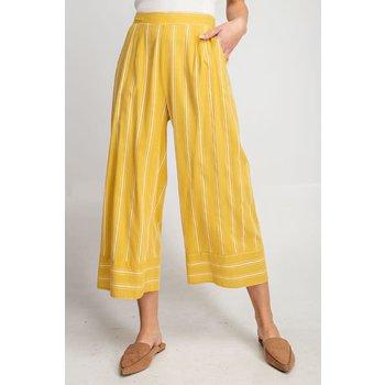 Pinstripe WIde Leg Pants
