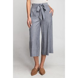 Pin Stripe Cullote Pants