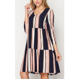 TL Colorblock Dress