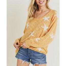 Star Knit Sweater