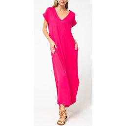 Jersey Knit Maxi Dress