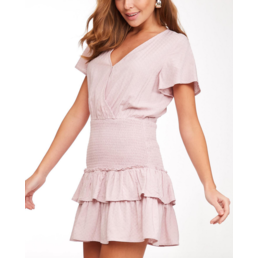 Smocked Ruffle Dress