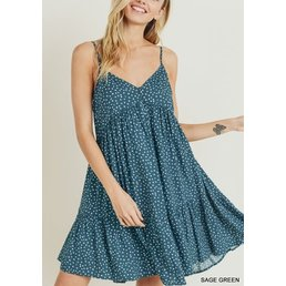 Polkadot Babydoll Dress