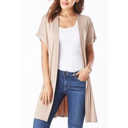 Modal Side Slit Cardigan