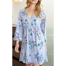 Empire Line Floral Dress