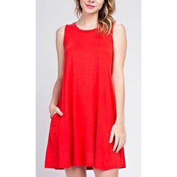 Sleeveless Bamboo Dress