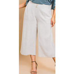 Crop Wide Leg Pants