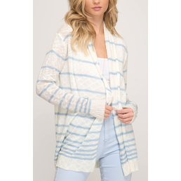 Striped Light Cardigan