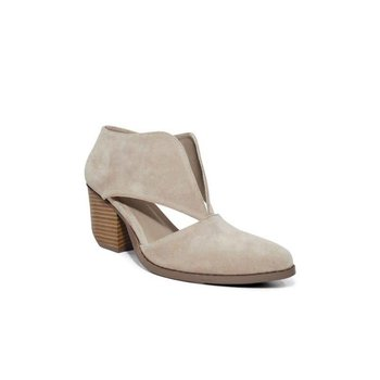 Chic Cut Out Slip On Bootie