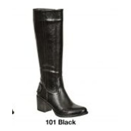 Calf High Boots W/ Side Zipper