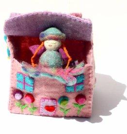 Felted Fairy Tiny Dream House
