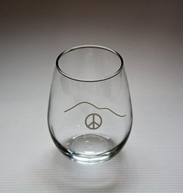 Wine Peace Glass