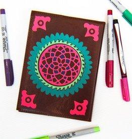 """Suzani"" Coral Journal"