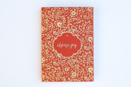 Choose Joy Metallic Journal