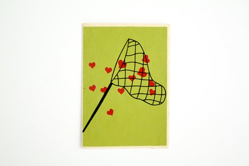 Catching Love Card
