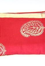 Scarlet Gold Bloom Napkin Set of 4