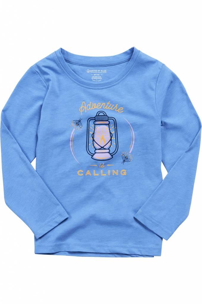 United By Blue UBB Kids longsleeve Adventure is Calling