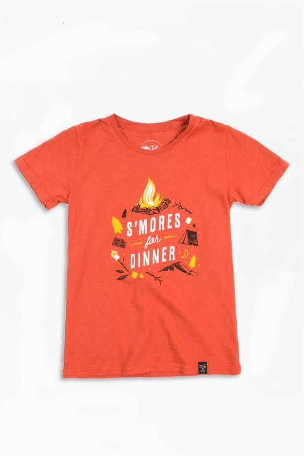 United By Blue UBB Kids short sleeve t-shirt S'mores