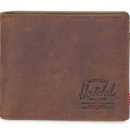 Herschel Herschel Hank Leather wallet Nub Brown