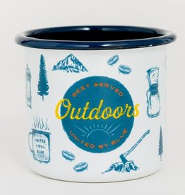 United By Blue UBB Outdoors Enamel Mug