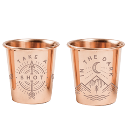 United By Blue UBB Copper Shot Glass (set of 4) Shot in the Dark