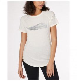 Ten Tree Clothing Ten Tree Women's Feather Wave Tee - Elm White