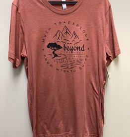 Beyond The Usual BTU Men's Compass Tee