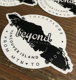 Beyond The Usual BTU Island Sticker  3""
