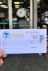 Beyond The Usual $25 Gift Certificate