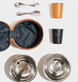 United By Blue UBB Reusable Meal Case- Midnight