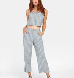 RVCA Women's RVCA Gratitude Stripe High Rise Trouser