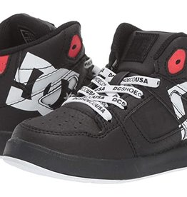 DC Shoe Co. DC Toddler Pure High Top Black Stencil