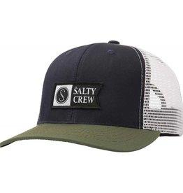 Salty Crew Salty Crew Pinnacle Retro Trucker - Navy/Green