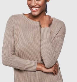 United By Blue UBB Women's Himley Waffle Sweater