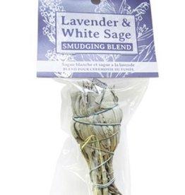 Zenature Smudge Blend - White Sage and Lavender, Small Bundle
