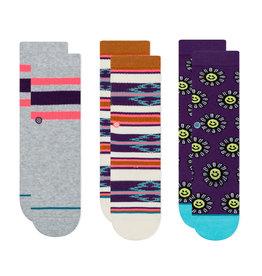 Stance Socks Stance Kid's Socks Multi pk - Daisy Smile